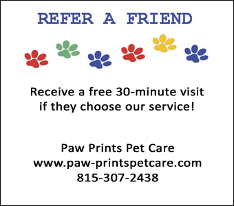 pet sitting coupon for pet owners in Hampshire, Illinois